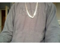 5 0z 9ct yellow gold chain old style