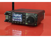 boxed mint icom 7000 with mobile antenner tuner and user manual £525.O.N.O