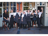 ENTHUSIASTIC FULL-TIME WAITER FOR WRIGHT BROTHERS SPITALFIELDS