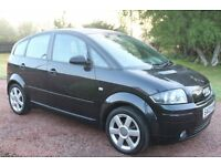 *AUDI A2 1.4 SE*2003*EX CONDITION*1 YEAR MOT(NO ADVISORIES)*12 SERVICE STAMPS*CAMBELTS DONE/SERVICE