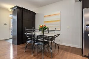 Slate kitchen table & 4 chairs