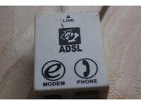 Phone Socket ADSL & Modem Socket