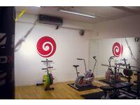 Personal training studio to rent