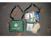First aid box plus contents