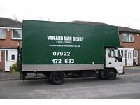 Home Removals. Van and Man Derby. East Midlands. Derbyshire, Nottinghampshire & Staffordshire.