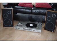 PANASONIC RECORD PLAYER/CASSETTE/FM STEREO RADIO/JAPAN CAN SEE WORKING