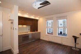 Newly refurbished 1br top-floor flat in great location