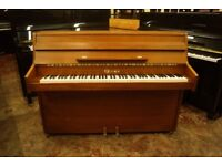 Small modern style upright piano - Tuned & UK delivery available