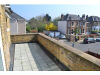 *Cheap 2 Bed Period Apartment Newly Decorated* With Private Terrace Short Walk to Train Station!!
