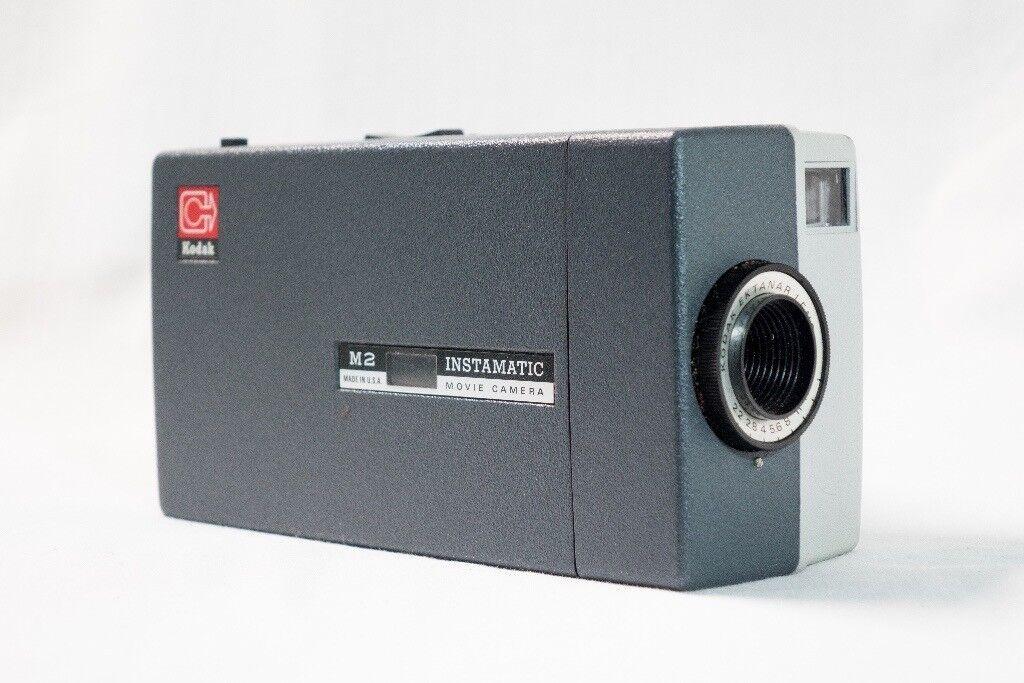 VINTAGE - Kodak M2 Instamatic Super 8 Movie Cine Camera