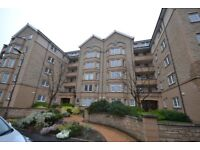 Superb top floor three bedroom apartment in popular Roseburn area of city.