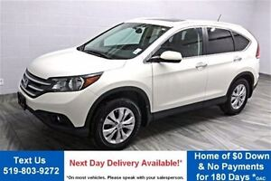 2014 Honda CR-V TOURING! 4WD! LEATHER! SUNROOF! NAVIGATION! REAR