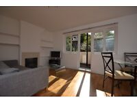 A spacious three double split level bedroom maisonette with two balconies in Highgate N6