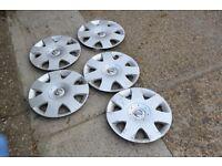 5 x Nissan Primera P12 wheel cover trim hub cap