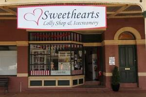 Sweethearts Lollyshop & Ice Creamery Lockhart Lockhart Area Preview