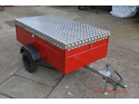 Custom Built Trailer With Built In Cooker