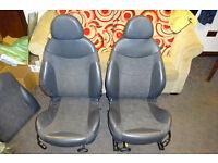 MIni Cooper Half Leather Seats, Great upgrade for Mini One 2001-2006