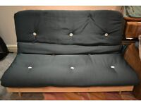 Double Futon 2 Seater Sofa Bed