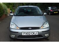 2002 Ford Focus Silver 1.6 Petrol - 87000 Miles, 9 Months MOT £700 ONO