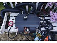 Eberspacher rear air conditioning airbox & evaporator & kit
