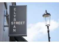 Receptionist at Michelin starred Elystan Street