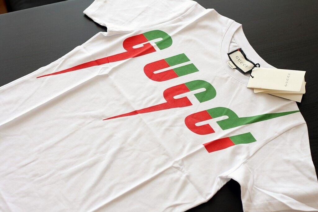 36cbcb521fa Brand New Gucci Billy Idol Blade Print 100% Cotton Tshirt