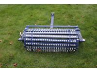 LAWN TURF AERATOR / SPIKER / GRASS SEED OVERSEEDER