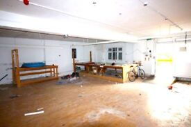 Huge 4000sqft Warehouse To Convert! 2 Months rent free! Could be 10+ Bedrooms.+Yard+free Parking.