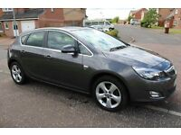 2011 VAUXHALL ASTRA SRI 1.4 (NEW SHAPE) MOT APRIL 2017 IMMACULATE AS FOCUS MEGANE CORSA CLIO GOLF