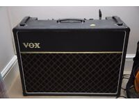 vintage 1970s Vox Ac 30 Solid state as used by Brian May,Status Quo. Great condition