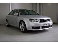 2004 Audi A4 1.9 TDI Sport 4dr (CVT) Full Service History, New MOT
