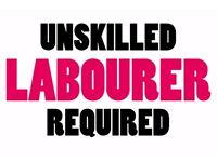 Labourer Unskilled - £8ph Cash