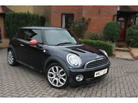 MINI COOPER 1.6 F/S/H *RED LEATHER* 74k miles