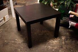 Ikea Black Table