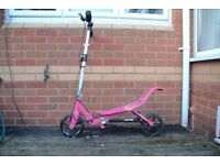 Girls Space Scooter