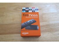 Alexa Voice Controlled Amazon Fire Stick The Ultimate Package with 3 Kodi apps +27 other apps