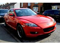Mazda RX8 2005 231 PS 2.6 Velocity Red Metallic Bose sound and BBS wheels