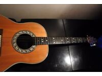 1979 Ovation Custom Balladeer 1612 Electro/ Acoustic Guitar For Sale