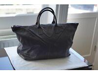 Second hand YVES SAINT LAURENT leather men's designer bag
