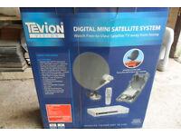 Caravan Tevion Vision Digital Mini Satellite System & Satellite Finder