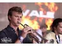 Experienced Jazz Trumpeter, based in London, good at playing by ear, improvising, and reading sheets