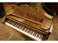 Antique Collard grand piano & stool - Tuned and UK delivery available