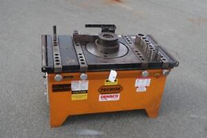 TECMOR Heavy Duty Rotary Table Rebar Bender