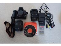 SONY DSLR & Lenses Package good condition £320.00