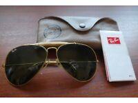 Genuine RayBan Aviator Sunglasses