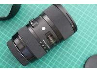 SIGMA Lens 18-35mm F 1.8 for Canon Cameras - NEW