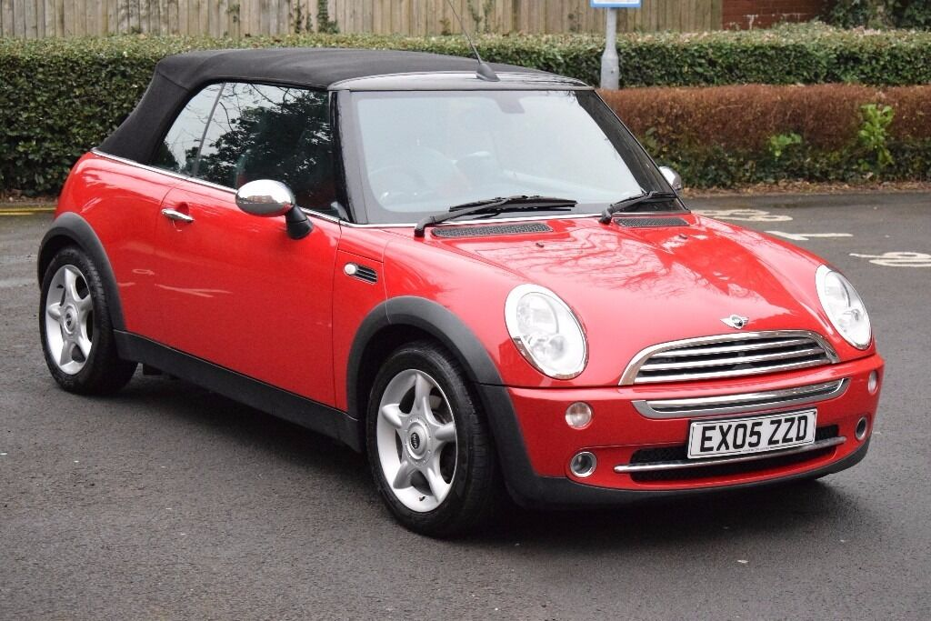 2005 mini cooper rear. 2005 MINI ONE CONVERTIBLE 1.6 RED AND BLACK*3 MONTHS WARRANTY*REAR PARKING AID Mini Cooper Rear