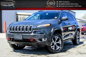 2016 Jeep Cherokee Trailhawk|4x4|Navi|Backup Cam|Bluetooth|R-Sta