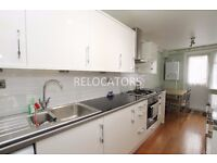STUNNING THREE DOUBLE BEDROOM (NO LOUNGE) WITH LARGE KITCHEN DINER CLOSE TO TUBE STATIONS