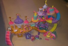 My Little Pony Castle Set + ponies + accessories + extras